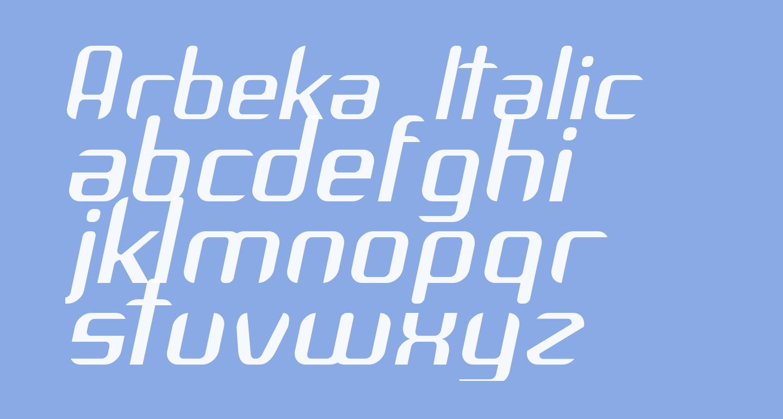 Arbeka  Italic