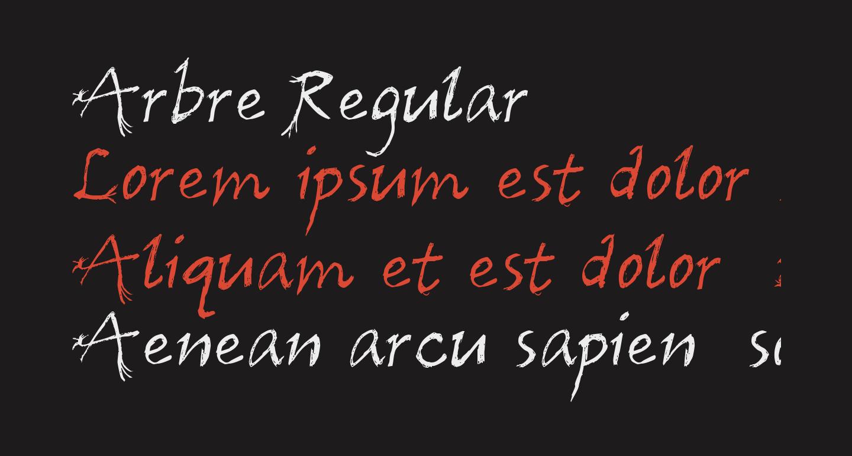 Arbre Regular