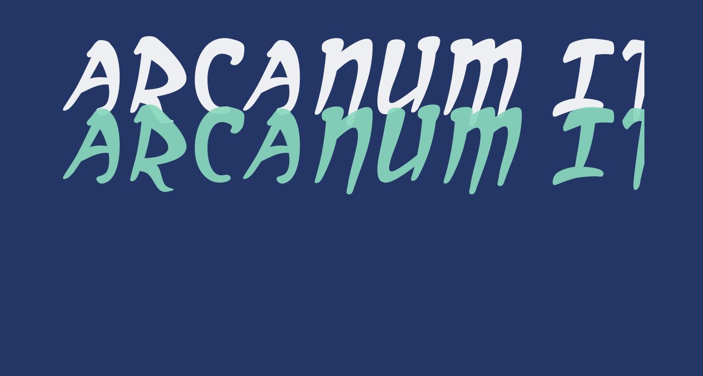 Arcanum Italic