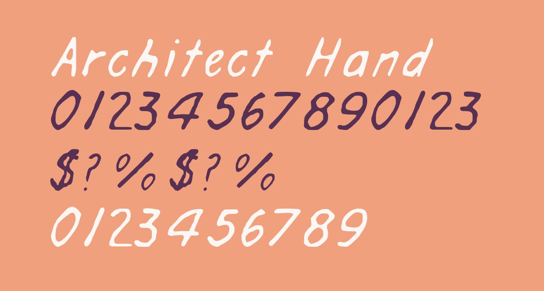 Architect Hand