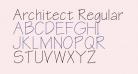 Architect Regular