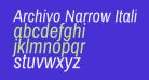 Archivo Narrow Italic