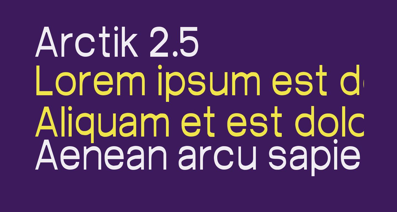 Arctik 2.5