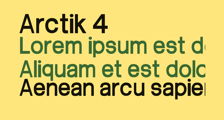 Arctik 4