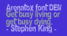 Arenatox font DEMO