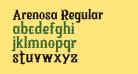 Arenosa Regular