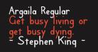 Argaila Regular