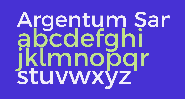 Argentum Sans