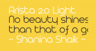 Arista 2.0 Light