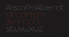 AristaProAlternate-UltraLight