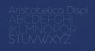 Aristotelica Display Trial UltraLight