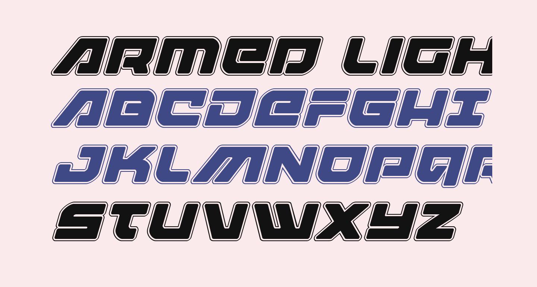 Armed Lightning Academy Italic