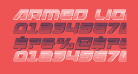 Armed Lightning Chrome Italic