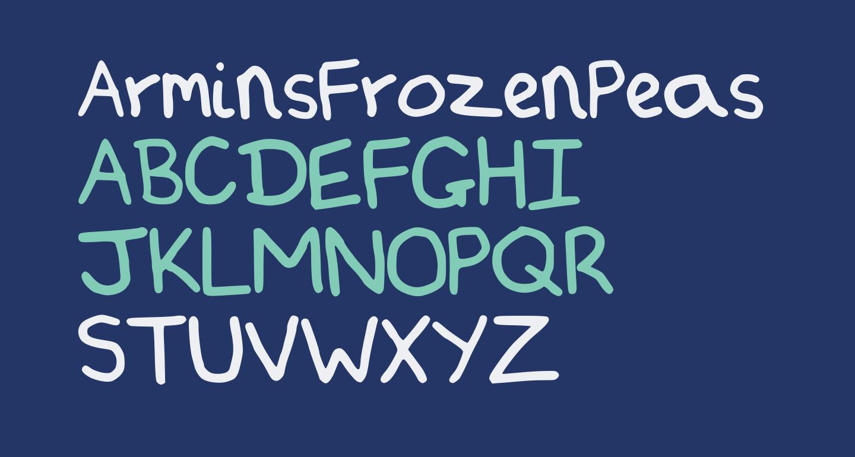 ArminsFrozenPeas