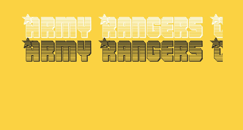 Army Rangers Chrome Regular