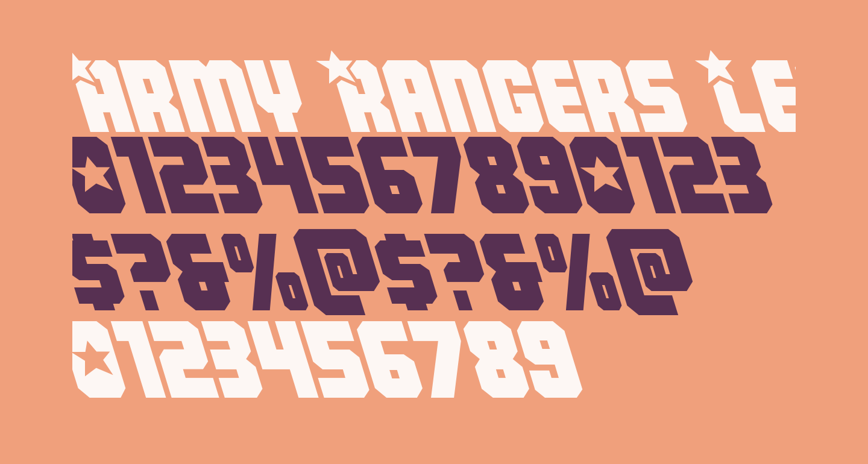 Army Rangers Leftalic