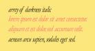 Army of Darkness Italic