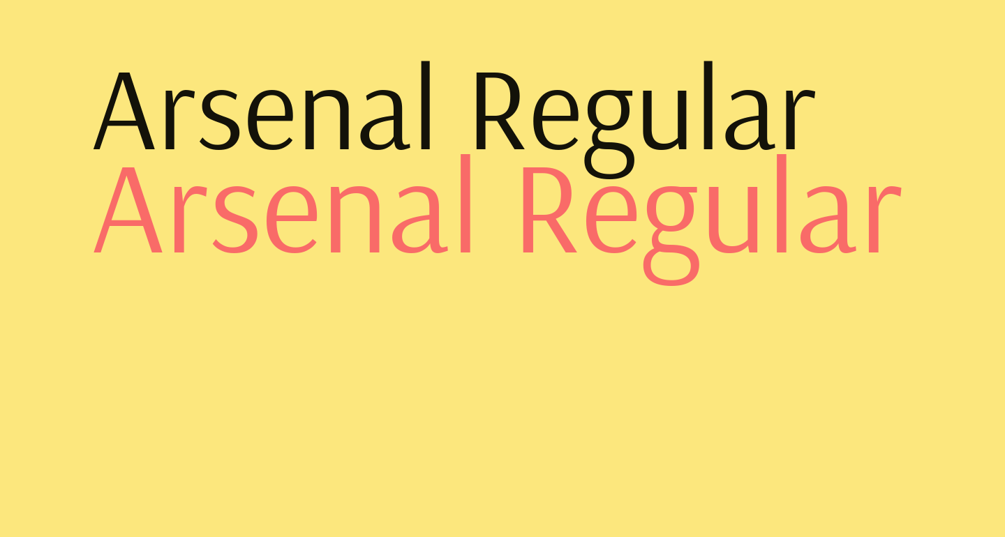 Arsenal Regular