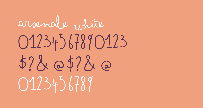Arsenale White