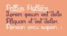 Arthus1 Hig6htone