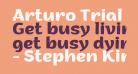 Arturo Trial Bold