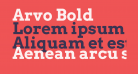 Arvo Bold