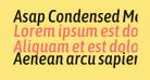 Asap Condensed Medium Italic