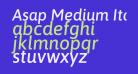 Asap Medium Italic