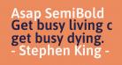 Asap SemiBold