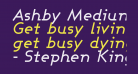Ashby Medium Italic