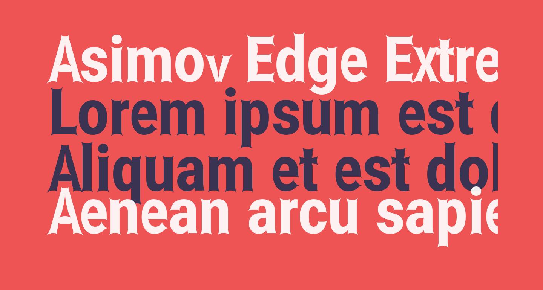 Asimov Edge Extreme