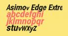 Asimov Edge ExtremeItalic