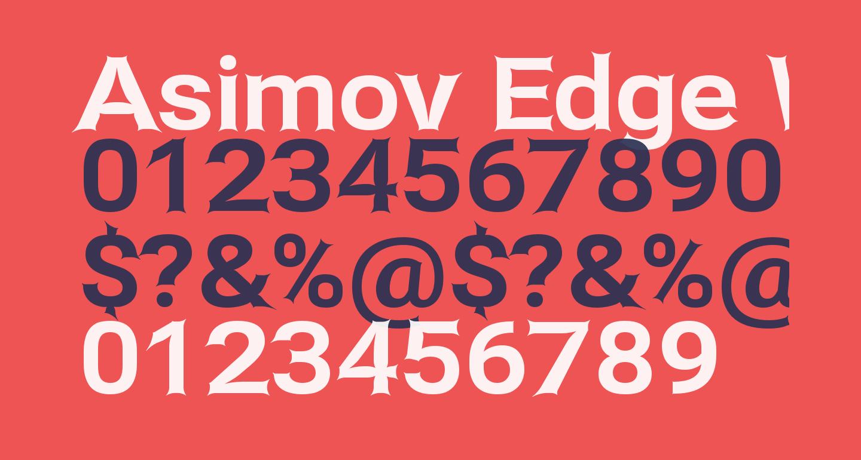 Asimov Edge Wide