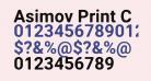 Asimov Print C