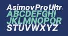 Asimov Pro Ultrablack Oblique