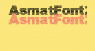 AsmatFont2007