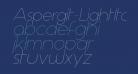 Aspergit-LightItalic