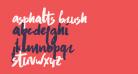 Asphalts Brush