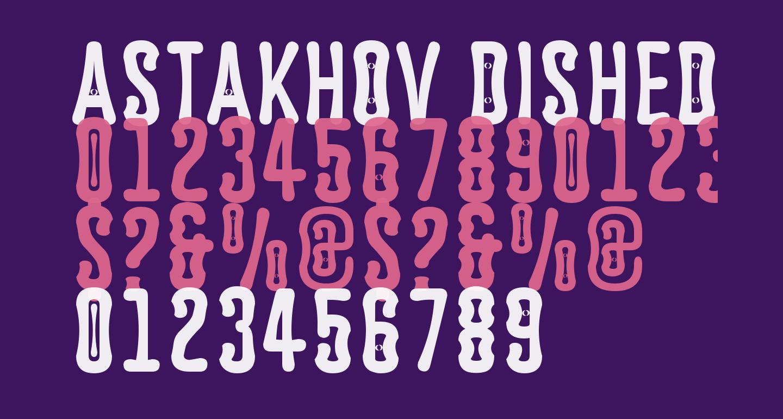 Astakhov Dished E