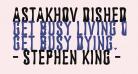 Astakhov Dished H