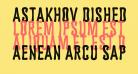 Astakhov Dished