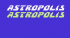 Astropolis Academy Italic
