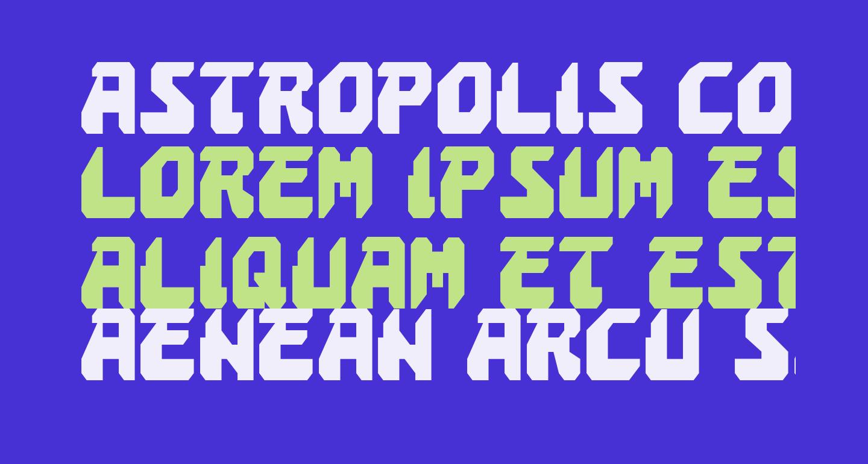 Astropolis Condensed