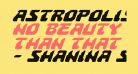 Astropolis Italic