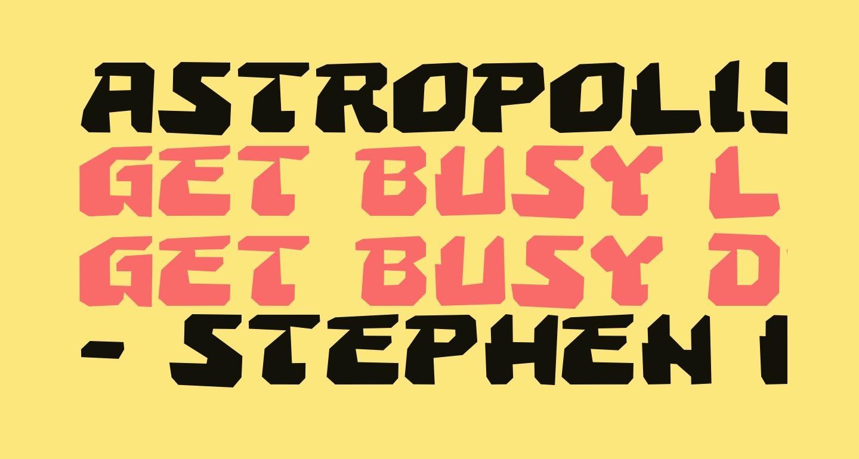 Astropolis Rough