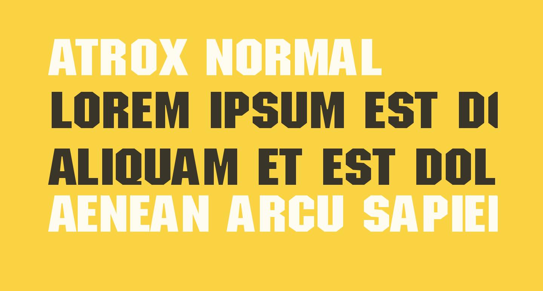 ATROX normal