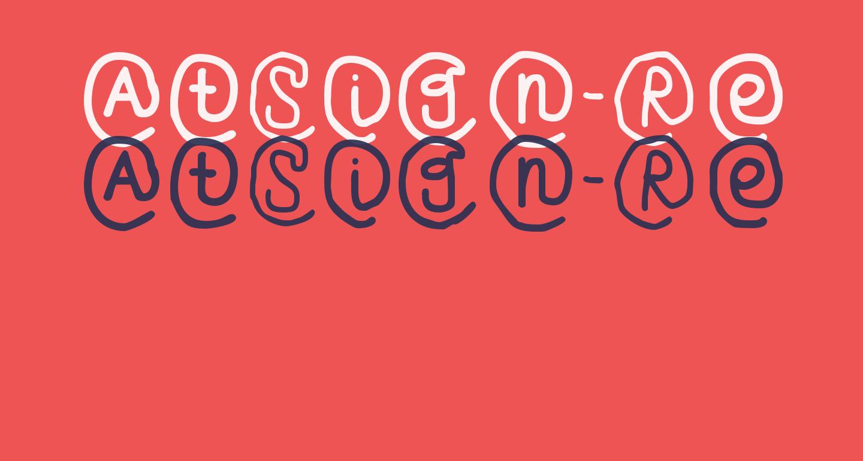 AtSign-Regular