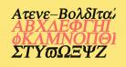 Atene-BoldItalic