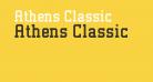 Athens Classic