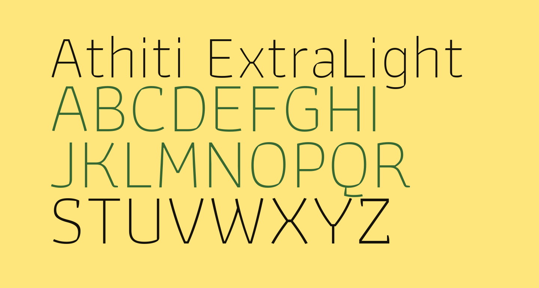 Athiti ExtraLight
